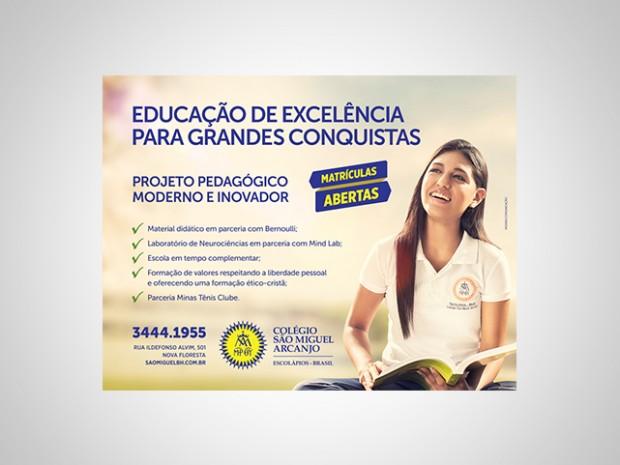 Anúncio - Colégio São Miguel Arcanjo