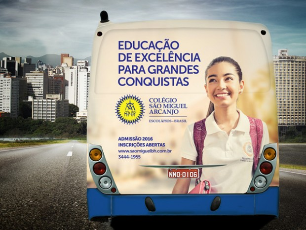 Busdoor 2 - Colégio São Miguel Arcanjo