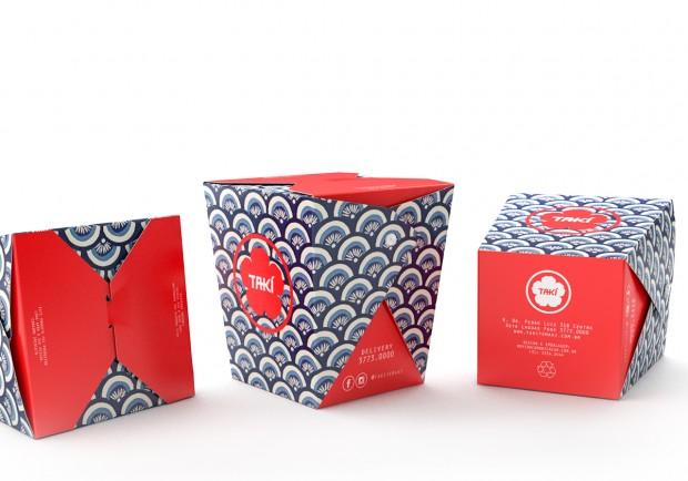 Criação de Embalagens para Yakisoba Restaurante Japonês