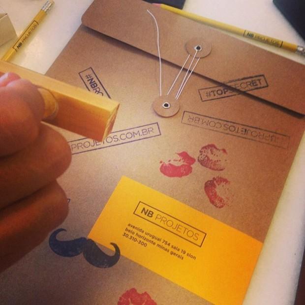 Carimbos e Envelopes para NB Projetos