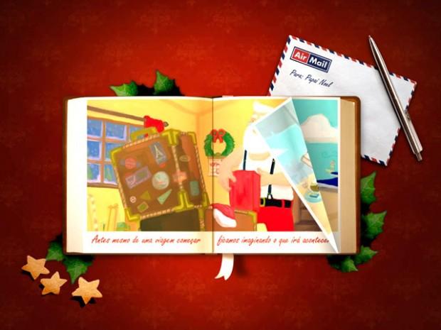 Cartão de Natal Virtual Tia Eliane