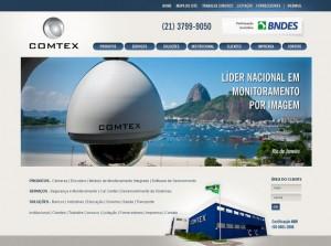 Novo site da COMTEX tem assinatura da Movida Comunicação.